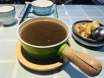 Bak-Kut-Teh de la comida deliciosa de Singapur para la cena foto de archivo libre de regalías