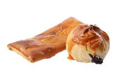 Bak Kwa Pastry and Char Siu Bun Royalty Free Stock Images
