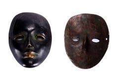 bak maskering Arkivbilder