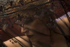 bak snöra åt modellen Royaltyfria Bilder