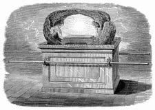 Bak van de Overeenkomst Het bekendste punt in het Tabernakel, beroemd voor zijn geheimzinnige bevoegdheden Royalty-vrije Stock Foto