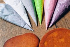 Baka attraktion på bakning, modeller royaltyfri fotografi