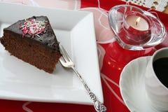 baka ihop chokladstycket Fotografering för Bildbyråer
