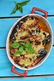 Bakad aubergine Royaltyfri Foto