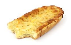 bakad biten pizza för brödostfransman nytt royaltyfri foto