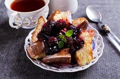 bakad cakeclosesötsak upp Royaltyfri Foto