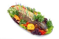 Bakad fisk Royaltyfri Foto