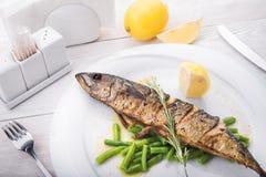 Bakad fisk Royaltyfria Foton