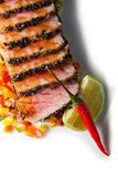 Bakad fransyska av tonfisk arkivfoton