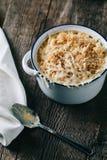 Bakad mac och ost Royaltyfri Foto