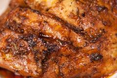Bakad meat Royaltyfria Bilder