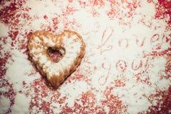 bakad muffin nytt Arkivbilder