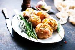 bakad potatis Royaltyfria Foton