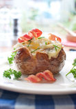 Bakad potatis Royaltyfri Bild