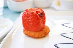 bakad tomat arkivfoto