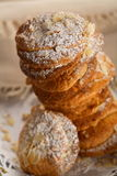 bakade cakes Royaltyfria Bilder