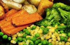 bakade grönsaker Arkivbilder