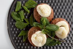 Bakade hemlagade muffin Royaltyfria Foton