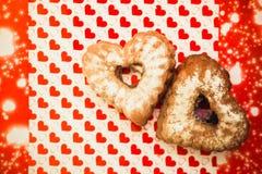 bakade muffiner nytt Royaltyfri Bild