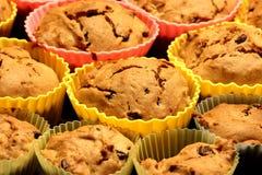 bakade nya muffiner Royaltyfri Fotografi