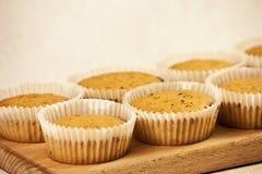 bakade nytt muffiner Royaltyfri Bild