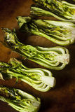 Bakade organiska behandla som ett barn Bok Choy Royaltyfri Foto