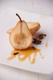 bakade pears Royaltyfria Bilder