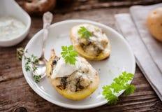 bakade potatisar Arkivbild
