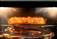 bakade potatisar royaltyfria foton