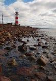 bakanu wybrzeże morza północnego Obraz Royalty Free