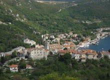 Bakar,城市在克罗地亚 免版税库存图片