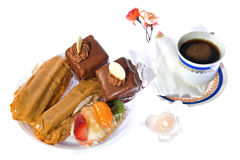 bakar ihop chokladkaffe Royaltyfri Foto