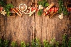 bakar ihop julkryddor Royaltyfri Fotografi