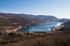 bakar podpalany Croatia Fotografia Stock