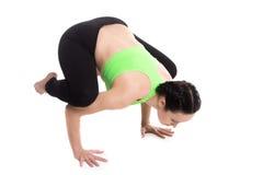 Bakasana yoga Pose Stock Photos