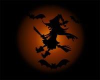 Bakcgroud di Halloween Fotografia Stock