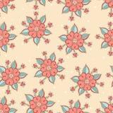 Flores cor-de-rosa bonitos ilustração do vetor