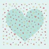Bakcground con los corazones Imagen de archivo