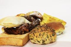 Bake сортировало хлебы стоковая фотография rf
