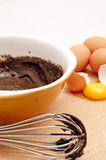 Bake Chocolate Cake Stock Images