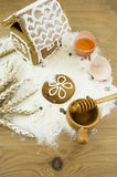 Bake gingerbread Stock Photography