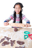 Bake gingerbread Royalty Free Stock Photography