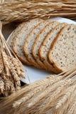 Bake goods. And corn materials Stock Photos