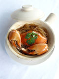 Bake mud crab in classerole Royalty Free Stock Photos