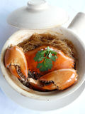 Bake mud crab in classerole Stock Photos
