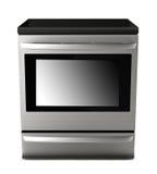 Bake oven. Isolated on white background Stock Image
