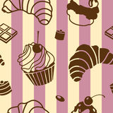 Bake pattern Royalty Free Stock Images
