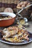 Bake quail Royalty Free Stock Image