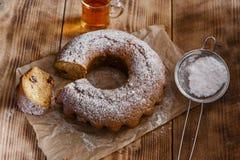 Bake ring cake Stock Photos
