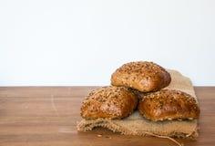 Bake rolls. On the desk Stock Photo